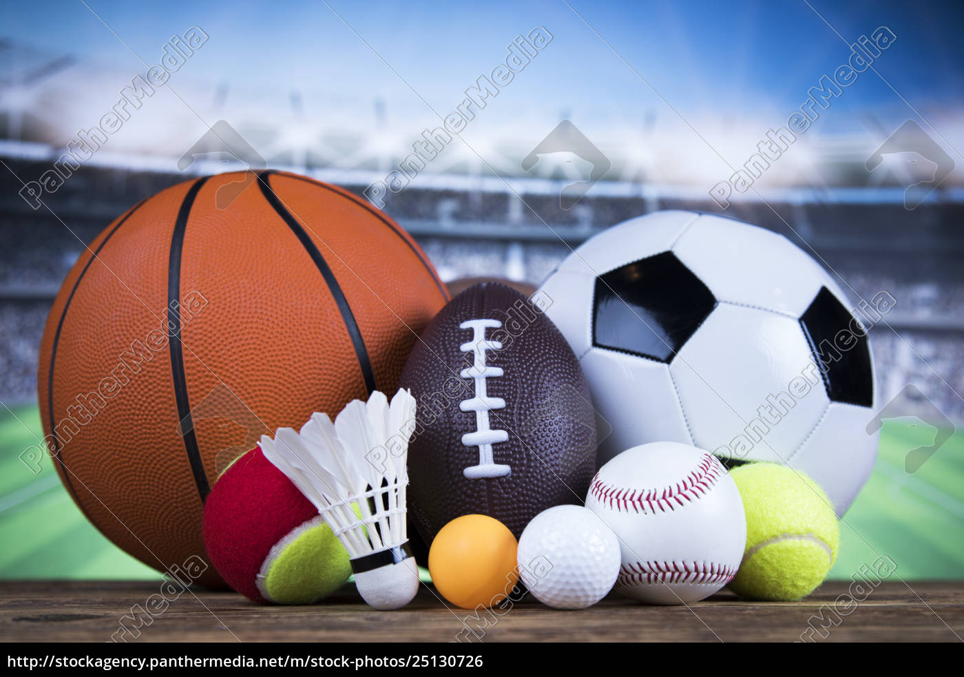 group, of, sports, equipment - 25130726