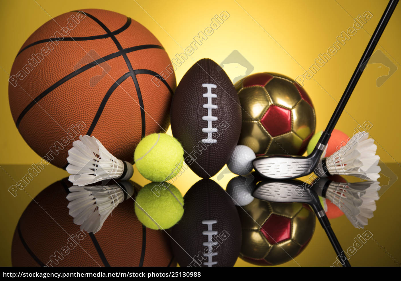 group, of, sports, equipment - 25130988