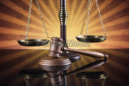 law, wooden, gavel, barrister, , justice, concept, - 25130312