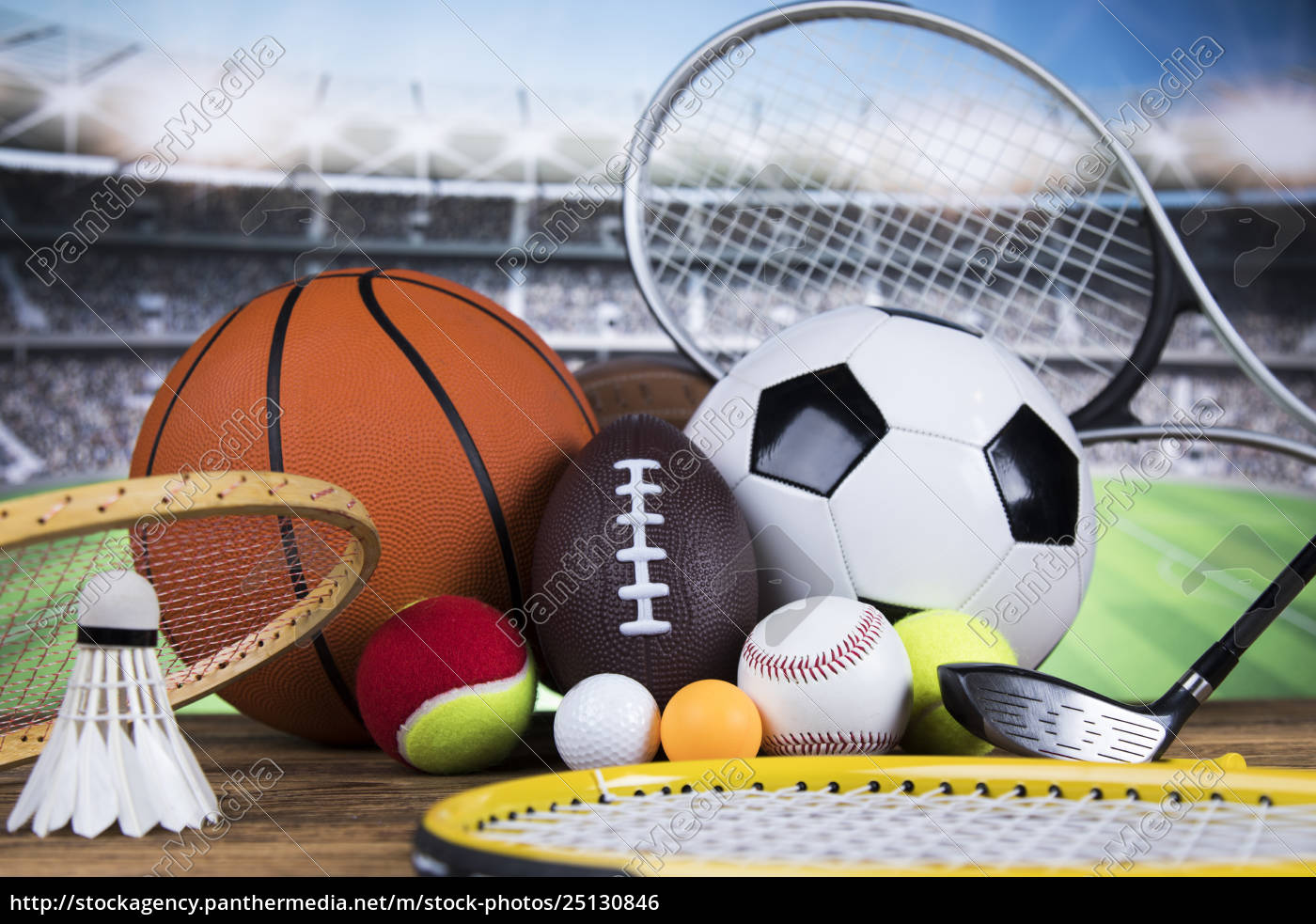 sport, , a, lot, of, balls, and - 25130846