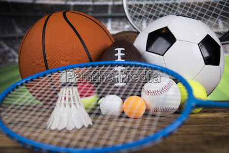sport, , a, lot, of, balls, and - 25130910
