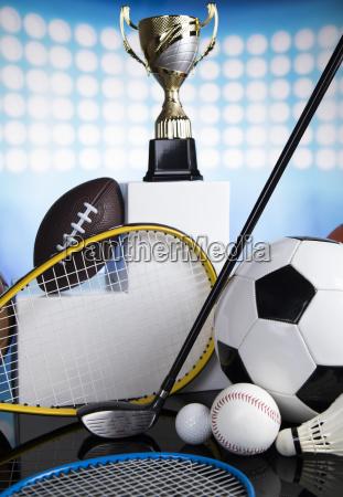 sport, podium, , cups, of, winners, award - 25130380