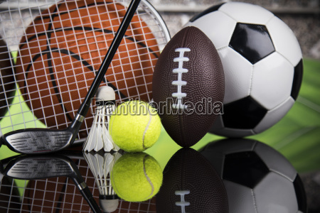 group, of, sports, equipment - 25131054