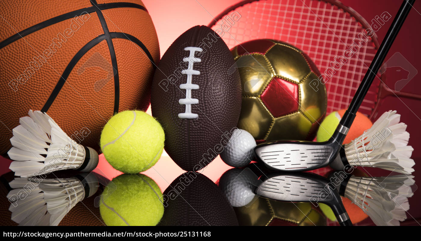 group, of, sports, equipment - 25131168