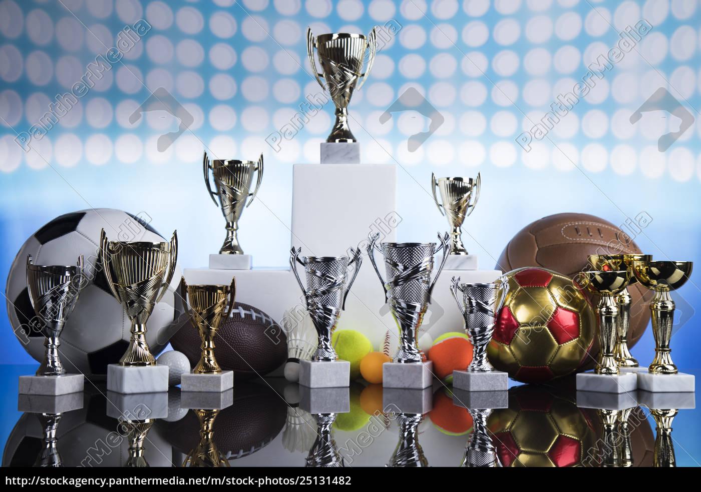 sport, podium, , cups, of, winners, award - 25131482