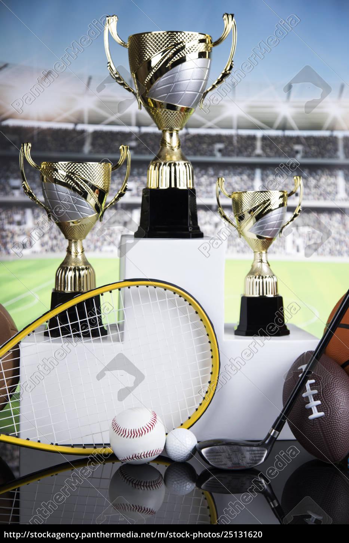 sport, podium, , cups, of, winners, award - 25131620