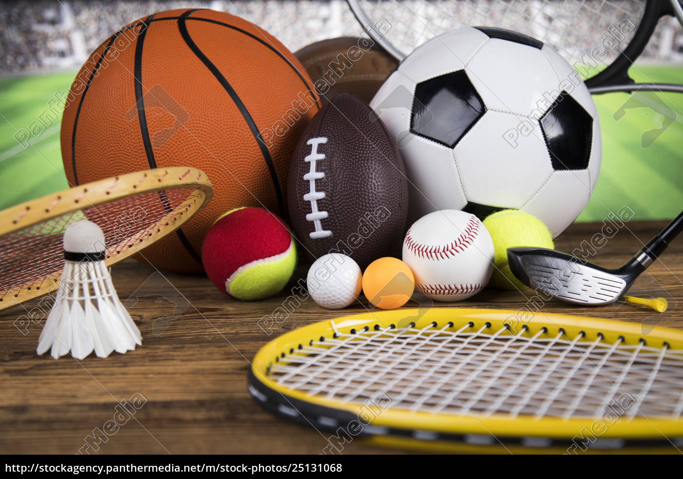 sports, balls, with, equipment - 25131068