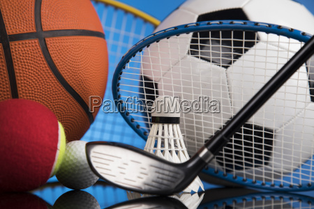 sports, balls, with, equipment - 25131124
