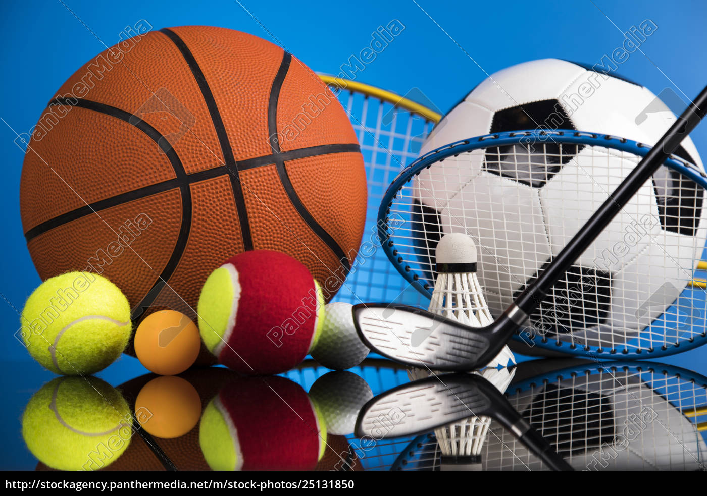 sports, balls, with, equipment - 25131850