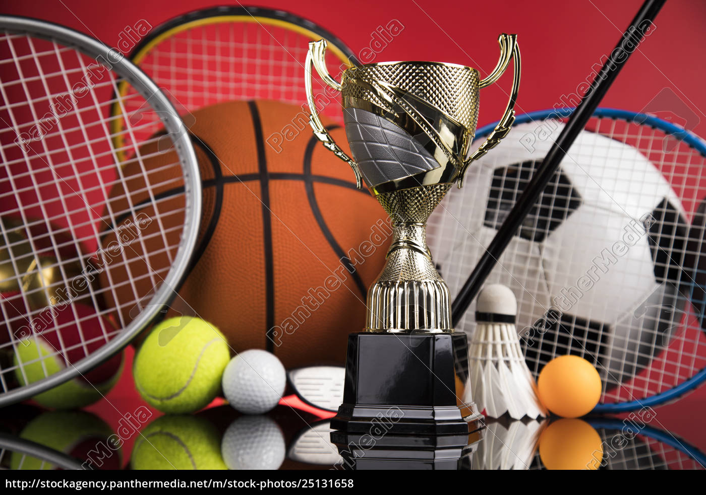 trophy, for, champion, , sport, background - 25131658