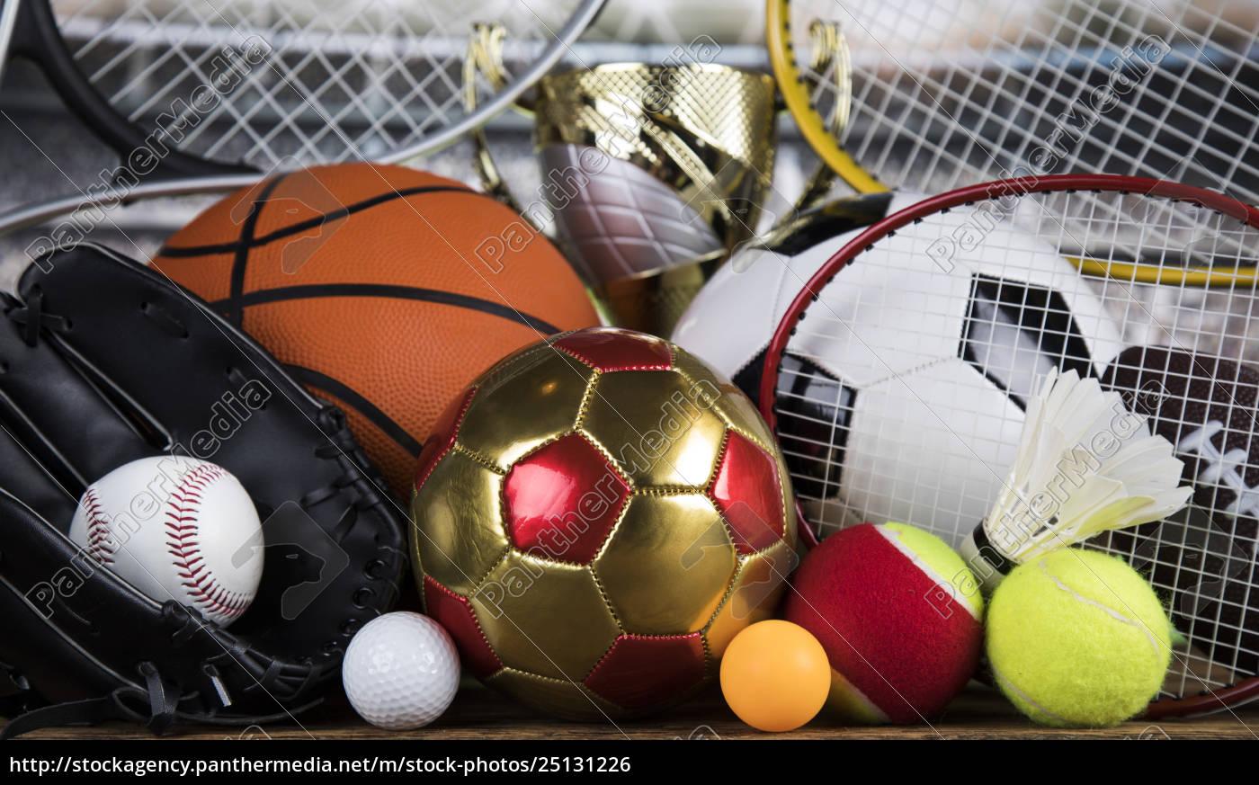 trophy, winning, , sport, ball, background - 25131226
