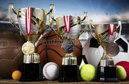 achievement, trophy, , winning, sport, background - 25134268