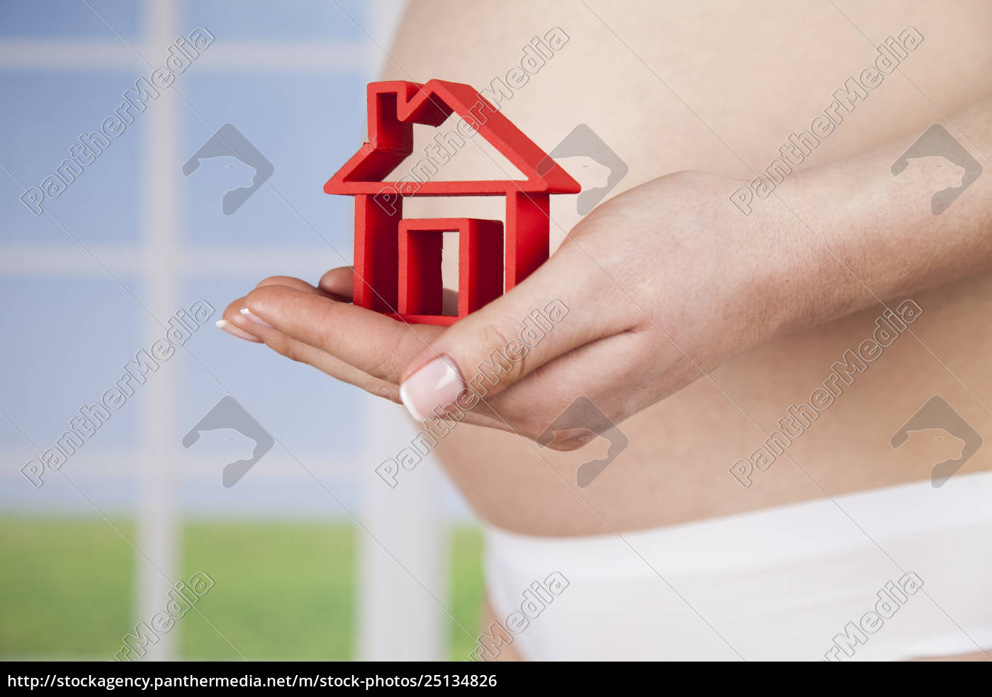 pregnant, new, home - 25134826