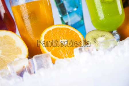 summer, drink, , palm, branch, and, fresh - 25134992