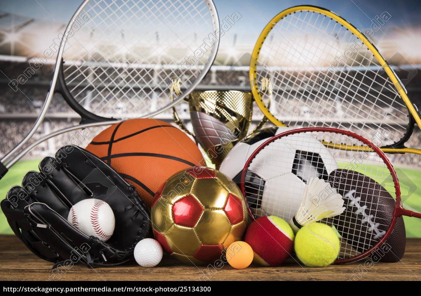 trophy, winning, , sport, ball, background - 25134300