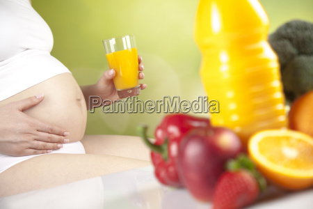 pregnancy sport fitness healthy lifestyle concept
