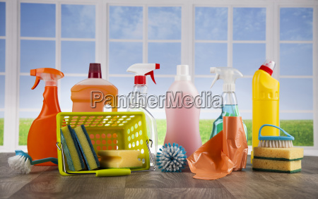 cleaning, supplies, and, window, background - 25135124