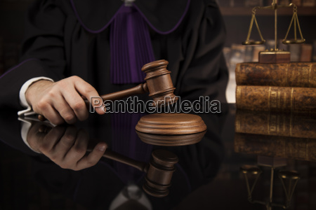 court, gavel, law, theme, , mallet, of, judge. - 25135524