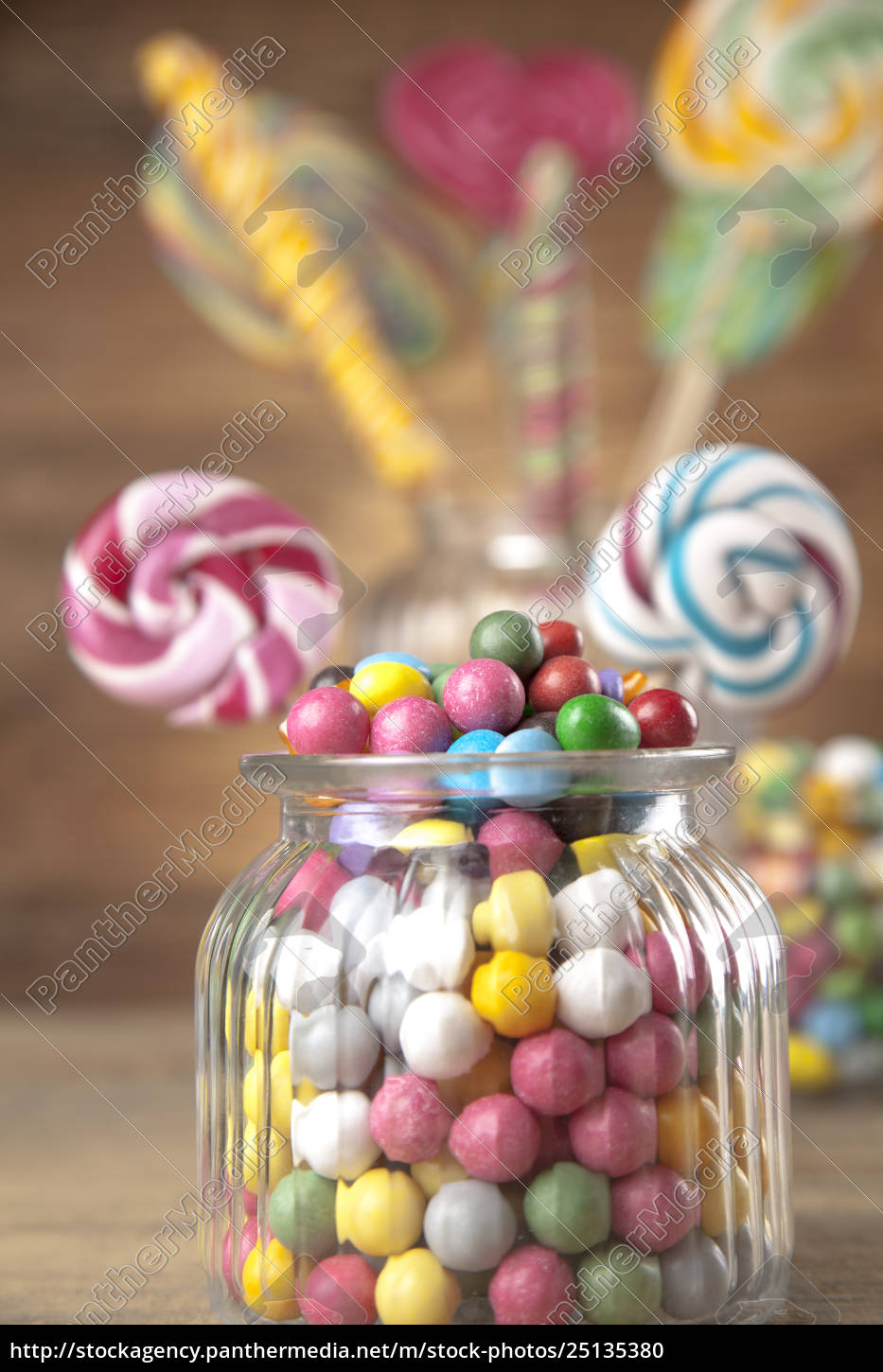 different, colorful, sweets, and, lollipops - 25135380