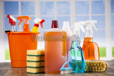 group, of, assorted, cleaning, and, window - 25135276
