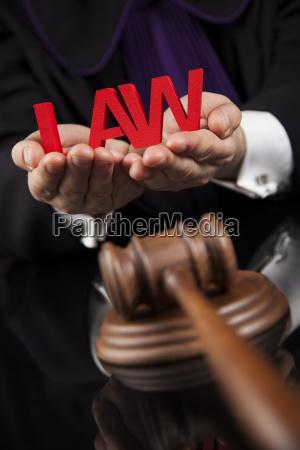 law, concept, , male, judge, in, a - 25135106
