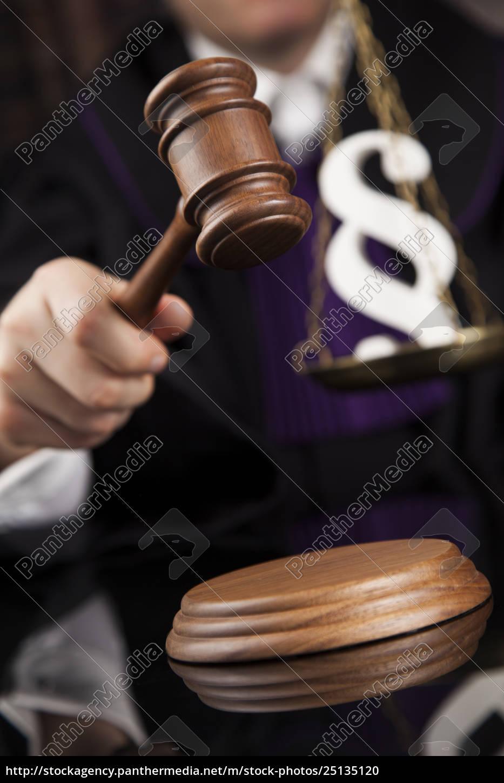 law, concept, , male, judge, in, a - 25135120