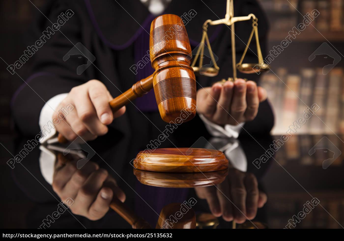 law, concept, , male, judge, in, a - 25135632
