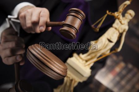 law, concept, , male, judge, in, a - 25135858