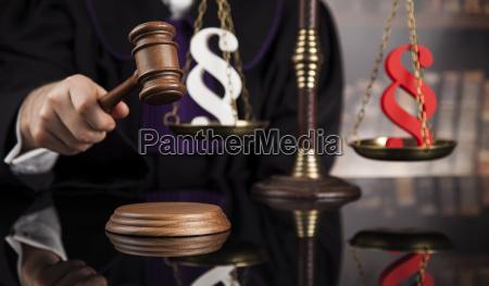 striking, mallet, , judgment, concept, , book, background - 25135020