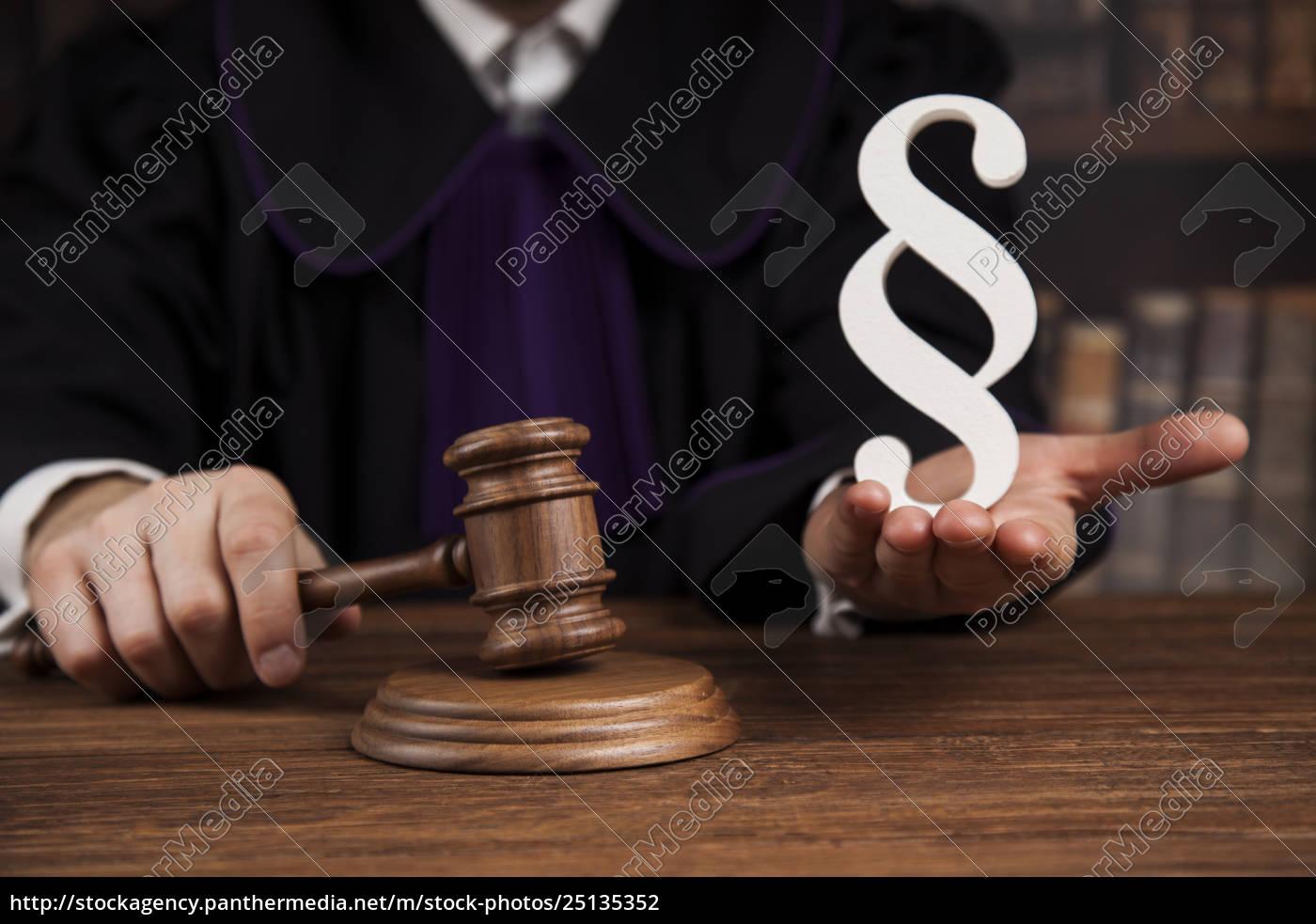 striking, mallet, , judgment, concept, , book, background - 25135352