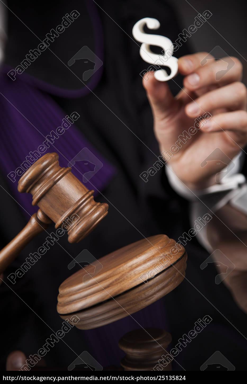 striking, mallet, , judgment, concept, , book, background - 25135824