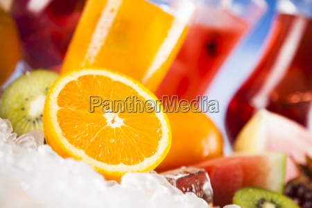 summer, drink, , palm, branch, and, fresh - 25135680