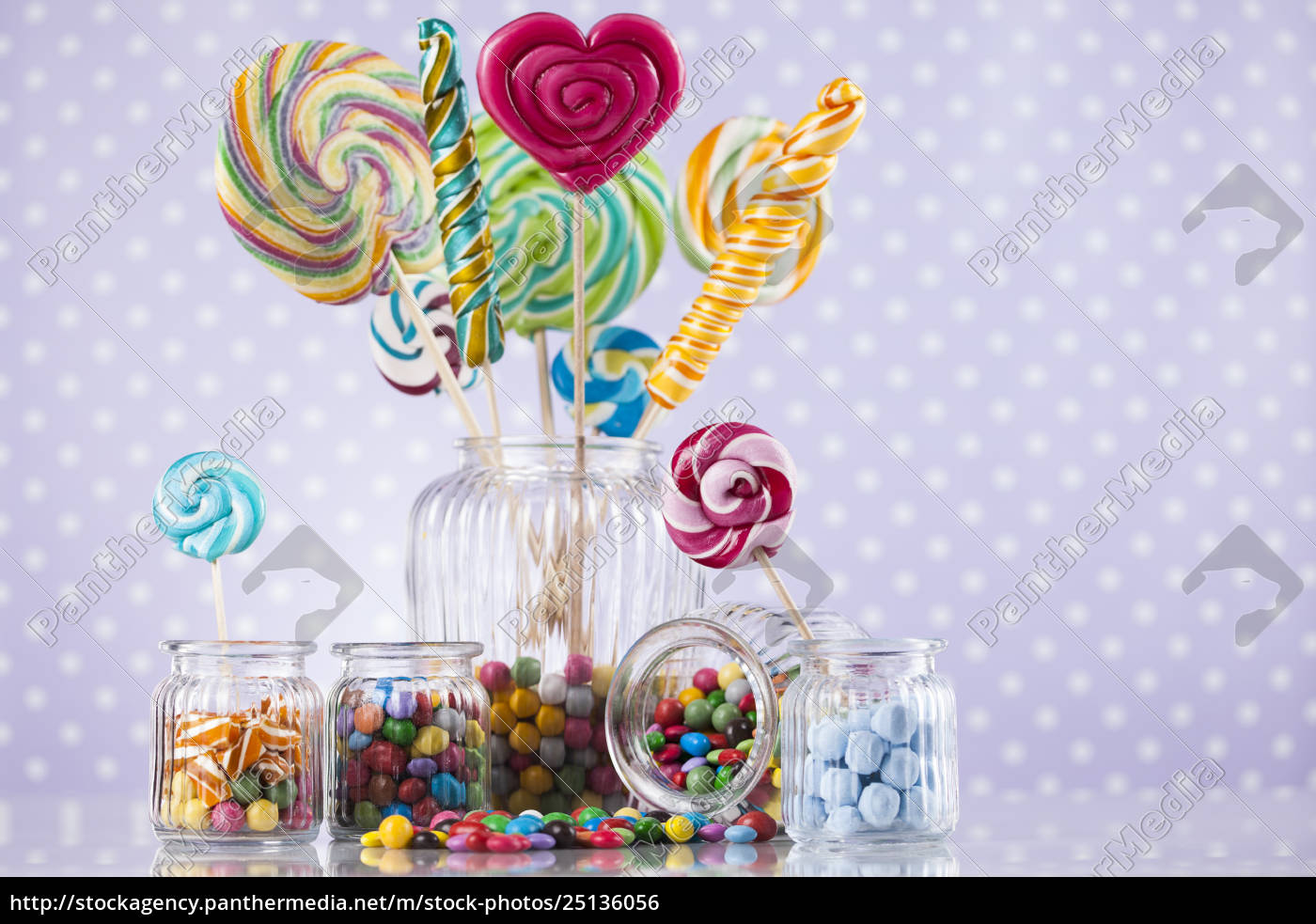 different, colorful, sweets, and, lollipops - 25136056
