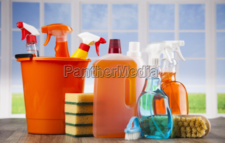 group, of, assorted, cleaning, and, window - 25136212