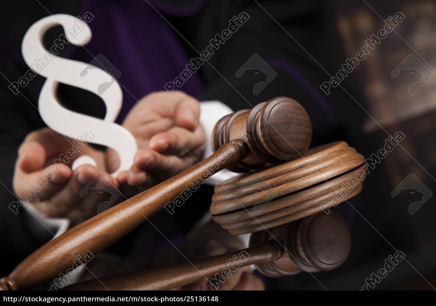 law, concept, , male, judge, in, a - 25136148