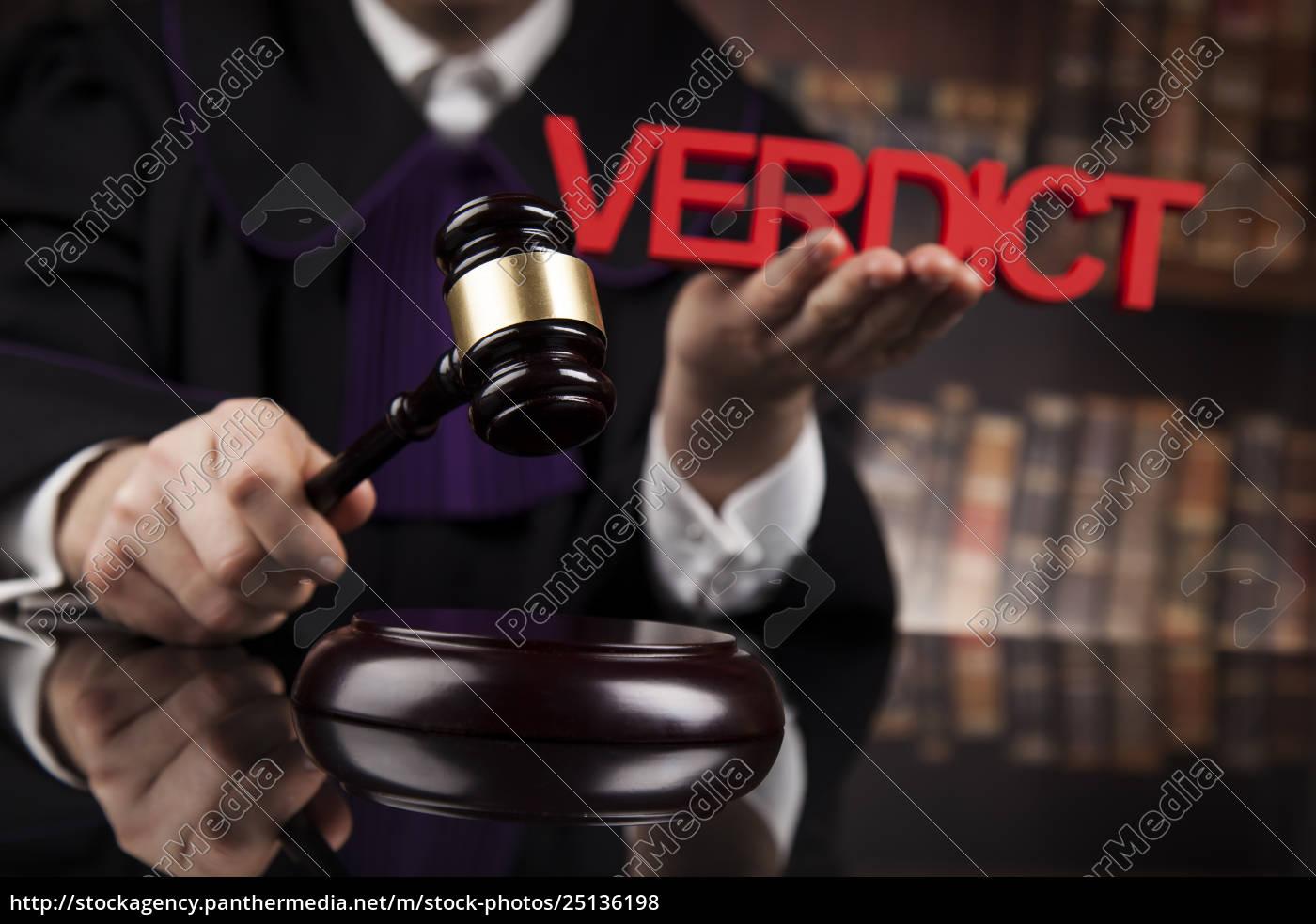 law, concept, , male, judge, in, a - 25136198