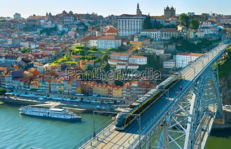 porto old town cityscape portugal