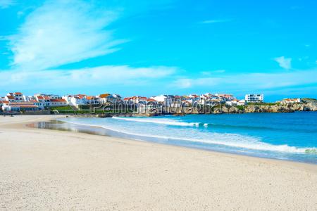 beautiful portugal ocean town