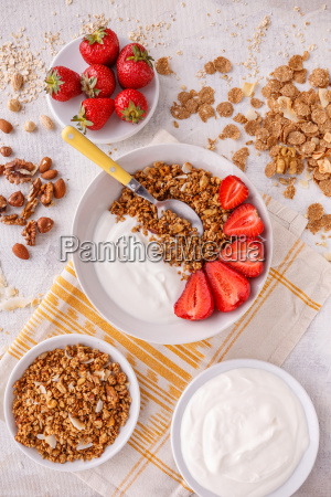 oat, granola, breakfast - 25140520