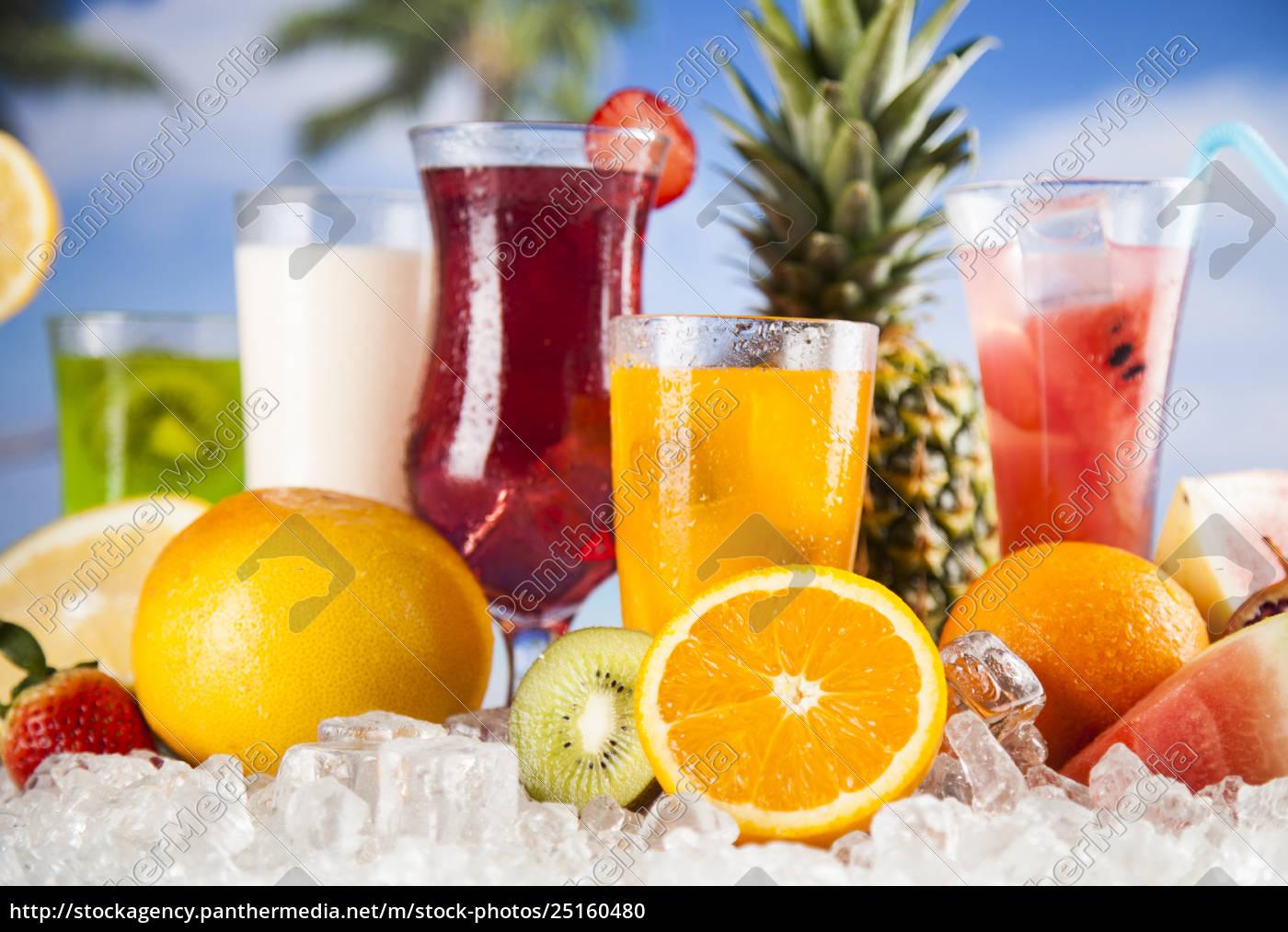 exotic, summer, drinks - 25160480