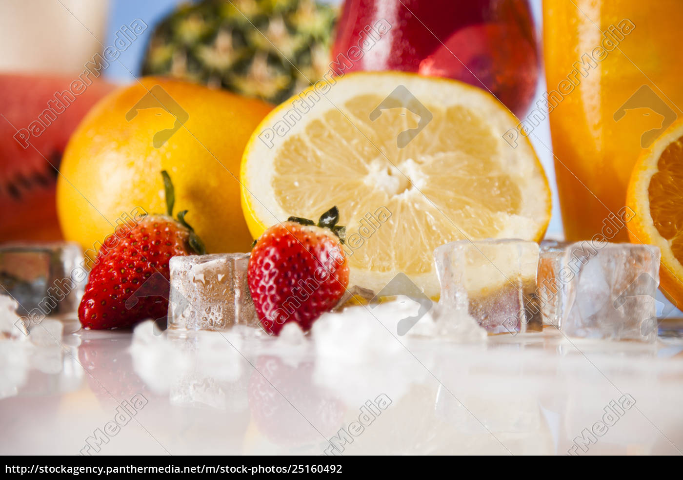 fresh, tropical, fruits, , summer, drink, and - 25160492