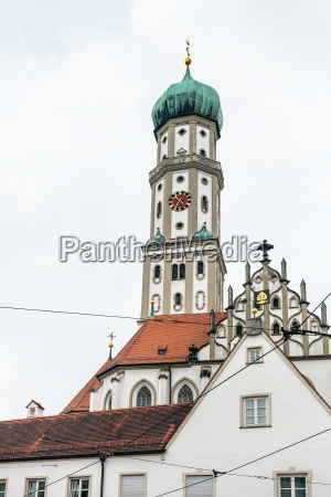 ss ulrich and afra church in