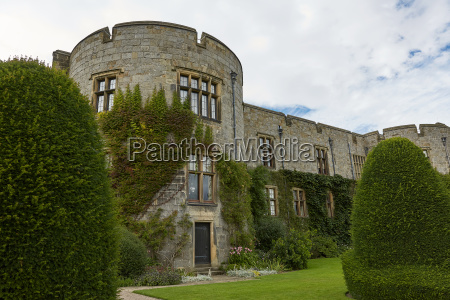 chirk castle and its garden wales