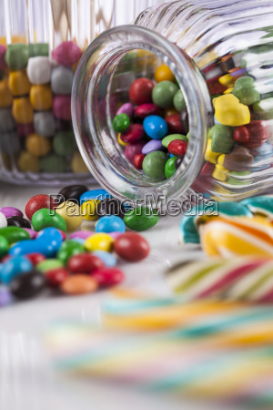 colorful, gum, sweet, candy, and, lollipops - 25162956