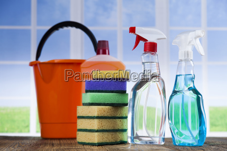 group, of, assorted, cleaning, and, window - 25162948