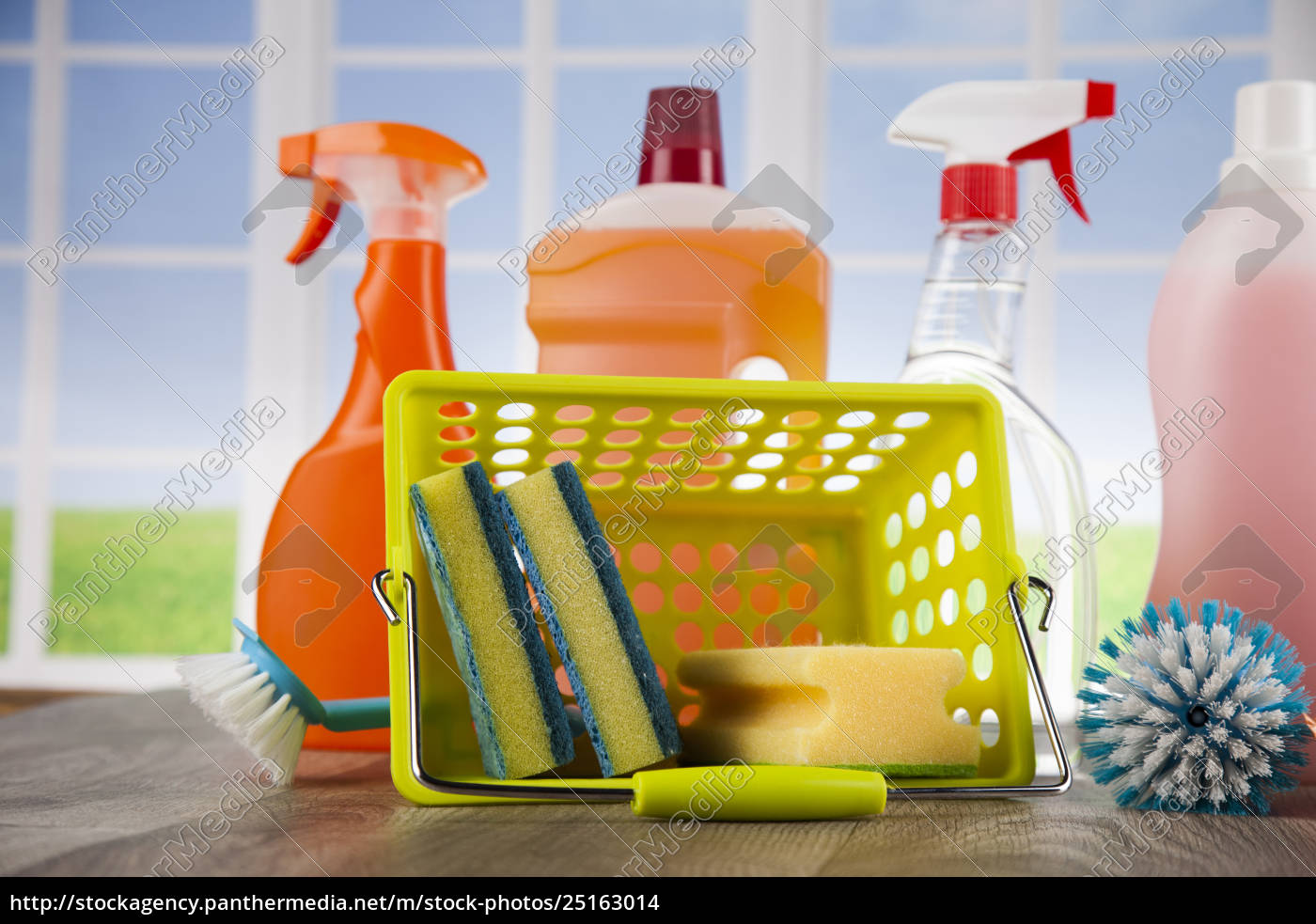 cleaning, and, window, background - 25163014