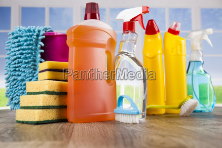group, of, assorted, cleaning, and, window - 25163022