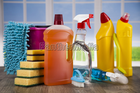 group, of, assorted, cleaning, and, window - 25163066