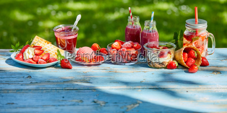 summer, food, and, drink, strawberries - 25177304