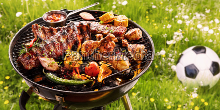 summer, or, spring, barbecue, outdoors, in - 25177642